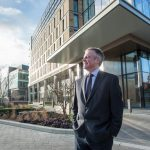 Alan Schofield, financial director at Clouston Group at Stephenson Quarter