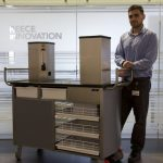 Evangelos Samiotis one of Reece Innovation's engineers at the innovation centre who worked on the project