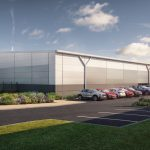 The planned industrial units at Monkton Business Park, Hebburn