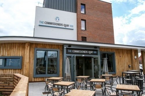 Commissioners Quay Hotel Logo