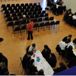 Learning event at Marden School