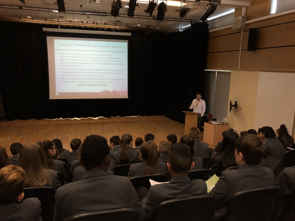students at excelsior academy energised by northern