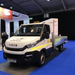 One of Northern Gas Networks' compressed natual gas vehicles at the Low Carbon Networks & Innovation Conference