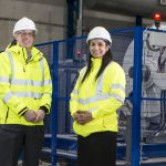 Andrew Macdonald and Ravneet Kaur from ORE Catapult